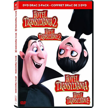 Hotel Transylvania Double Feature: Hotel Transylvania 1 and 2 - DVD