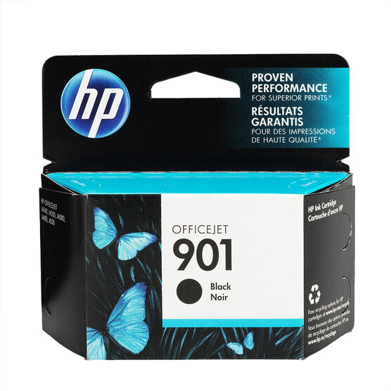 HP 901 Ink Cartridge - Black - CC653AC-140