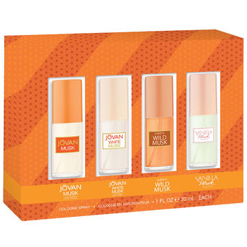 Jovan Omni Musk Set for Women - 4 piece