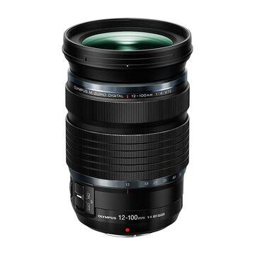 PRE-ORDER: Olympus 12-100mm F4.0 IS PRO Lens - Black - V314080BU000