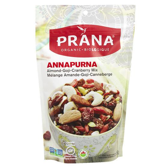 Prana Organic Almond, Goji & Cranberry Mix - 150g