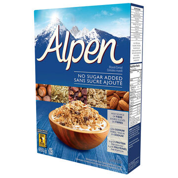 Weetabix Alpen Muesli - No Added Salt/Sugar - 650g