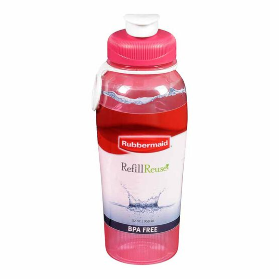 Rubbermaid Premium Chug Bottle - 950ml - Assorted Colours