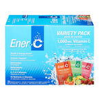 Ener-C Vitamin C Powered Drink Mix - 1000mg - Variety Pack - 30's