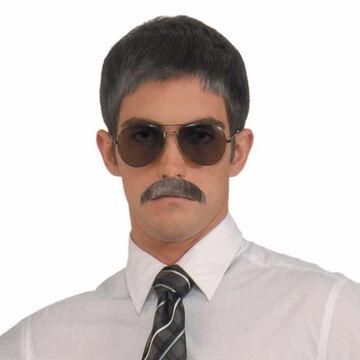 Halloween Gentleman Moustache