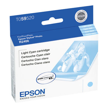 Epson R2400 Stylus Photo Ink Cartridge - Light Cyan - T059520