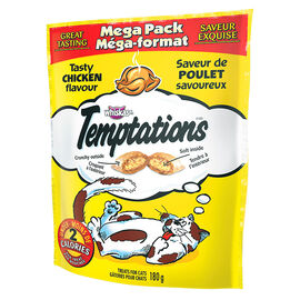 Whiskas Temptations Mega Pack - Tasty Chicken - 180g