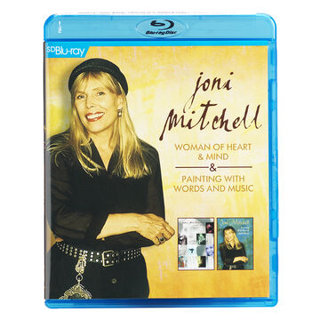 Joni Mitchell - Woman Of Heart & Mind + Painting With Words & Music - Blu-ray