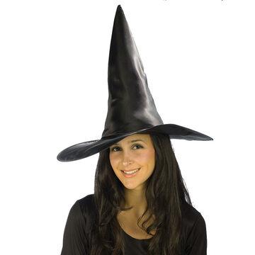 Halloween Satin Witch Hat
