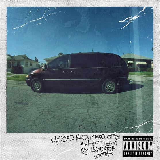 Kendrick Lamar - Good Kid, M.A.A.D City - CD