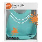 Make My Day Baby Bib - Pearls