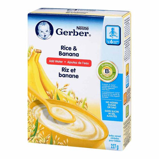 Nestle Baby Cereal With Milk - Rice & Banana - 227g