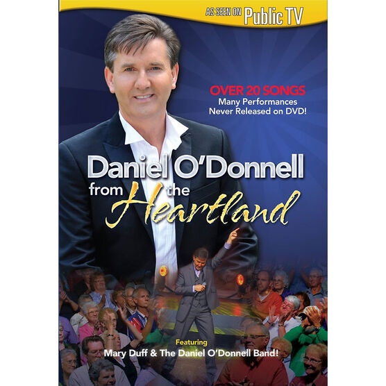 Daniel O'Donnell: From The Heartland - DVD