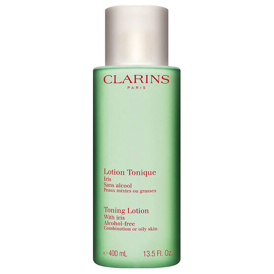 Clarins Toning Lotion with Iris - Combination or Oily Skin - 400ml