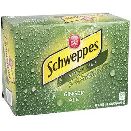 Schweppes Ginger Ale - 12 pack