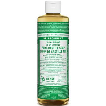 Dr. Bronner's Liquid Pure-Castile Soap - Almond - 473ml