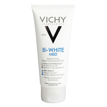 Vichy Bi-White Reveal Double Corrective Whitening Deep Cleansing Foam - 100ml