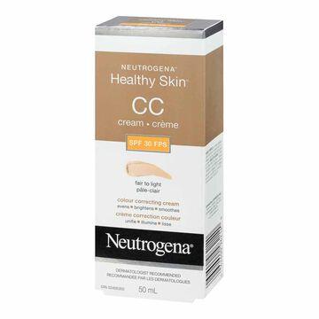 Neutrogena Healthy Skin CC Cream - Fair to Light - SPF 30 - 50ml