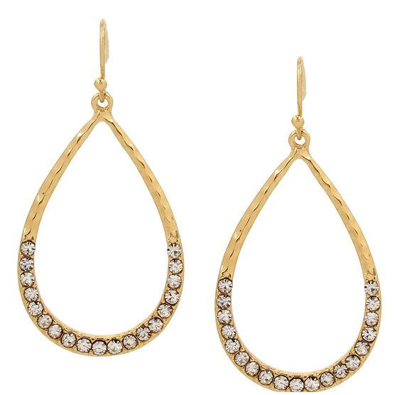 Haskell Teardrop Earrings - Gold
