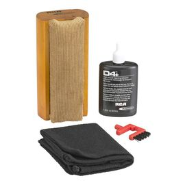 RCA Vinyl Record Cleaning Kit - Black/Brown - RD1006