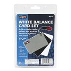Vidpro White Balance Cards - Gray/Black/White - WB-7