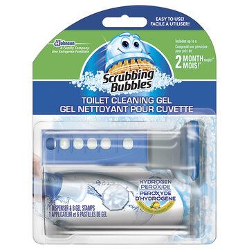 Scrubbing Bubbles Toilet Cleaning Gel - Hydrogen Peroxide - 6 discs