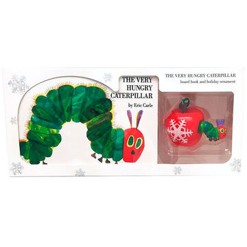 The Very Hungry Caterpillar Board Book and Ornament by Eric Carle