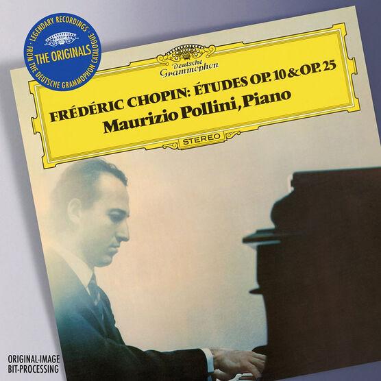 Maurizio Pollini - Chopin: Etudes Op. 10 and Op. 25 - CD