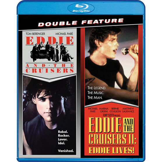 Eddie And The Cruisers / Eddie And The Cruisers II: Eddie Lives! - Double Feature- Blu-ray
