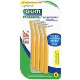 G.U.M. Proxabrush Go-Betweens Angle Cleaners - 6's