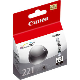 Canon CLI-221BK Ink Cartridge - Black