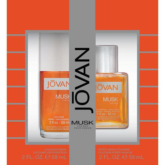 Jovan Musk for Men Fragrance Gift Set - 2 piece
