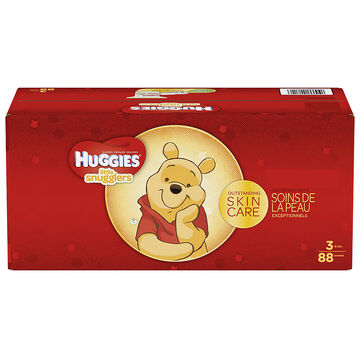 Huggies Little Snugglers Diapers - Step 3 - 88's