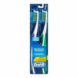 Oral-B CrossAction Toothbrush - 40/Soft - 2 pack