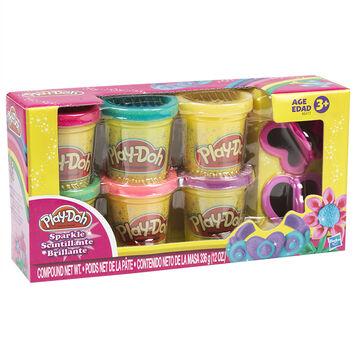 Play-Doh Sparkle Compound - 6 colours