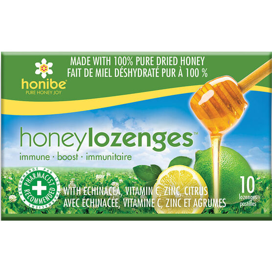 Honibe Honey Lozenges Immune - 10's