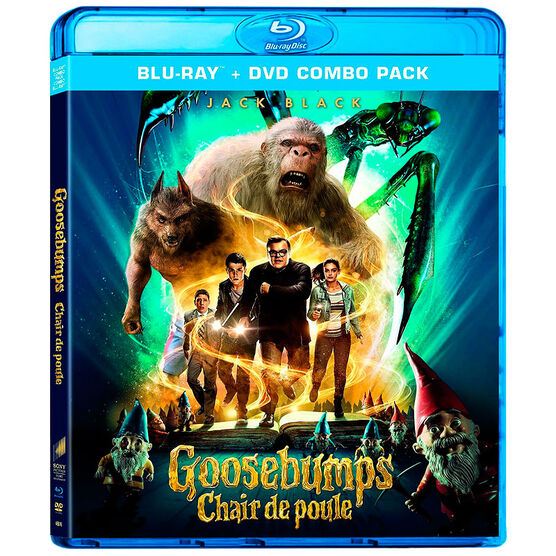 Goosebumps - Blu-ray + DVD