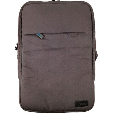 Logiix Canvas Vertical Bag for Tablets and Ultrabooks up to 11inch - Grey/Blue - LGX-10598