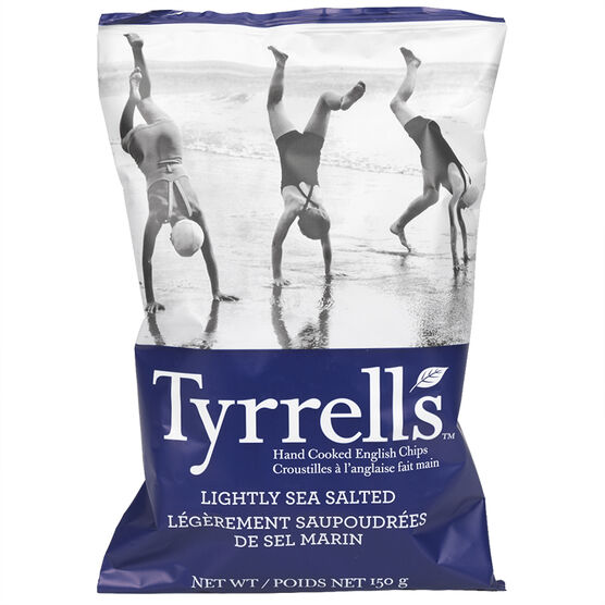 Tyrrell's Chips - Lightly Sea Salted - 150g