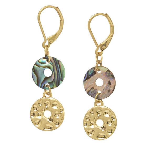 Lonna Lilly Double Drop Earrings
