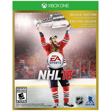 Xbox One NHL 16: Deluxe Edition