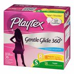 Playtex Gentle Glide - Multi-Pack - Unscented - 36's