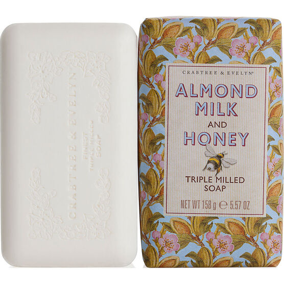 Crabtree & Evelyn Almond Milk & Honey Triple Milled Soap - 158g