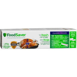 FoodSaver Expandable Bags - 11 inches x 16 feet