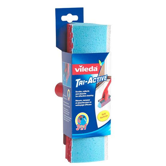 Vileda Tri-Active Sponge Mop Refill