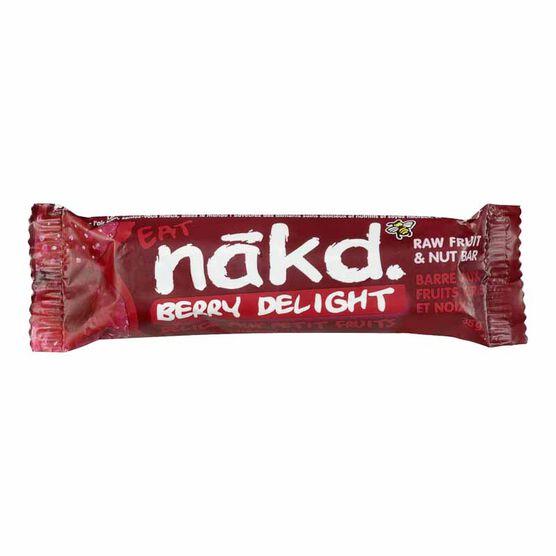 Nakd Raw Fruit & Nut Bar - Berry Delight - 35g