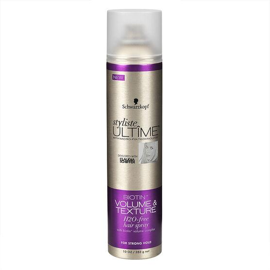 Schwarzkopf Styliste Ultime Hairspray - Biotin+ Volume - 283g