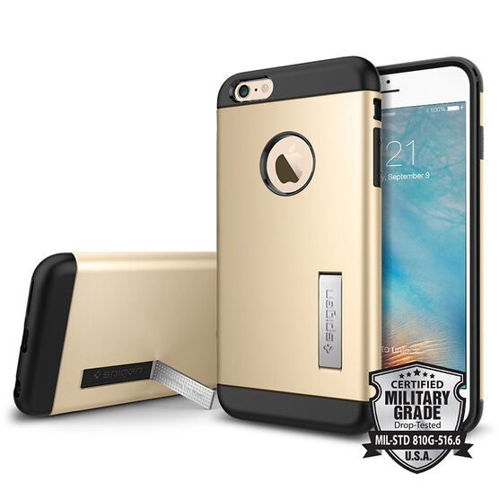 Spigen Slim Armor for iPhone 6 Plus - Gold - SGP11653