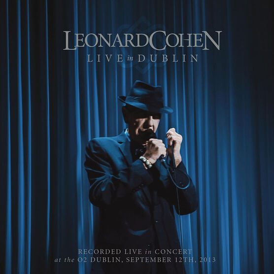 Leonard Cohen - Live In Dublin - DVD + 3 CD