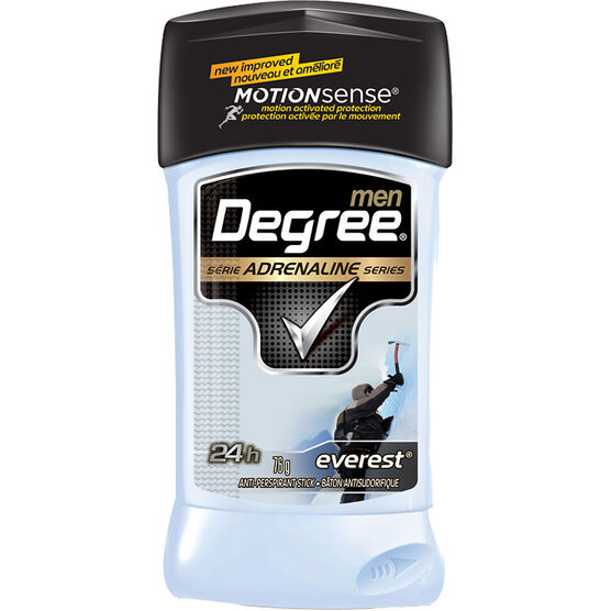 Degree Men Adrenaline Series Anti-Perspirant Stick - Everest - 76g